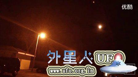 2014年11月15日华盛顿州橙色UFO此前3晚有异常声音的图片