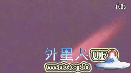 2014年11月23日加拿大上空类似流星的红色UFO的图片