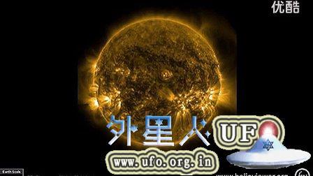 2014年11月26日一周的太阳耀斑与巨大UFO的图片