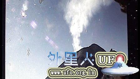 2014年11月27日监测墨西哥波波卡特佩特镜头再次拍到UFO的图片