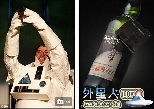"""""""太空威士忌""""将重返地球 正宗太空味!"""