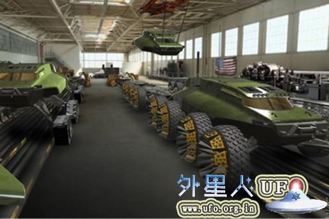美研发未来概念坦克:外形酷似鸭嘴兽