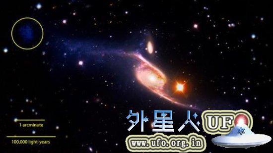 发现迄今最大宇宙星系:拥有恐怖大旋臂