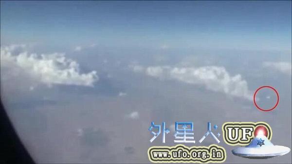 伊朗飞机乘客拍摄UFO 快速移动形如圆盘的图片 第4张