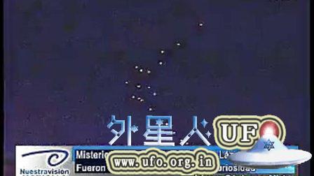 2014年11月30日墨西哥上空两个UFO舰队的图片