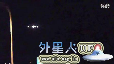 2014年12月4日马里兰州开车路上拍到的UFO的图片