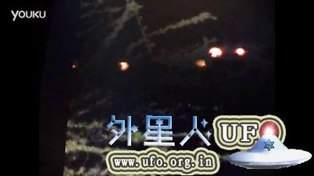 非洲拍摄动物时拍到的UFO的图片