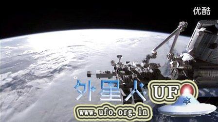 2015年2月8日国际空间站拍到UFO的图片