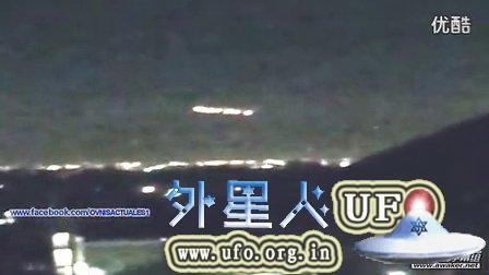 2015年2月2日凤凰城再次出现UFO母舰的图片