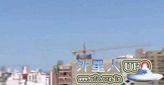 秘鲁雷尔运动介绍外星人大使馆,紫色UFO出现被电视台拍到的图片 第3张