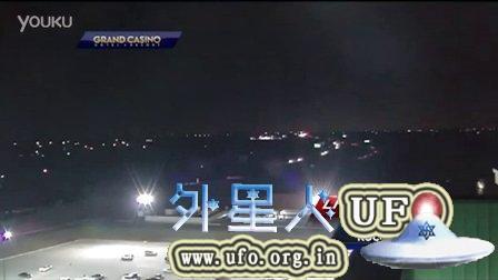 2015年3月12日美国俄克拉荷马州电视新闻直播中又拍到UFO