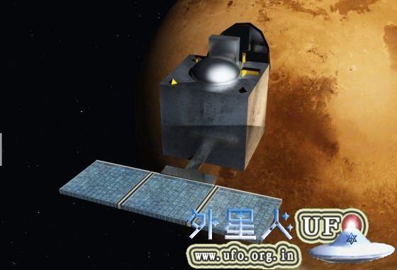 火星的印度首颗火星探测器——MOM飞船。