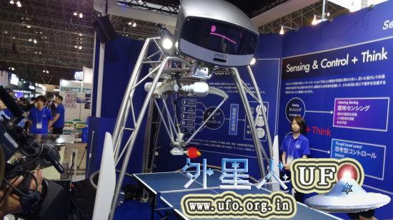 乒乓球机器人全貌 第2张