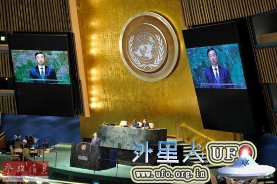 2014年10月17日,10月17日,中国常驻联合国副代表王民呼吁国际社会携手应对埃博拉疫情。 第2张