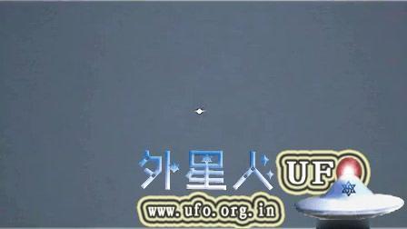 成都东门上空拍到UFO的图片