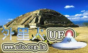 墨西哥玛雅遗址瓦哈卡:阿尔班山金字塔 第1张