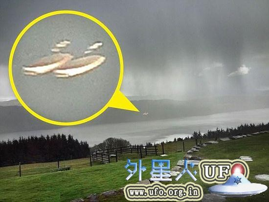 英国尼斯湖UFO目击照片实拍2015年6月