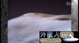 1971年阿波罗15号拍到飞碟停留月球表面观察人类登月