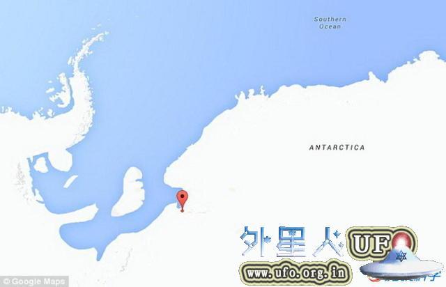 南极洲UFO坠毁残骸被俄罗斯男子发现是真的吗?还是南极裂缝? 第2张