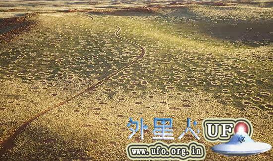 非洲荒漠现神秘精灵怪圈裸点 疑似UFO降落点 第2张