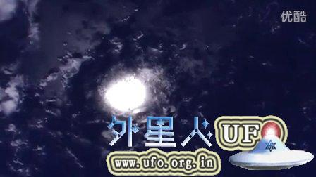 2015年7月21日国际空间站拍到巨大白色光团