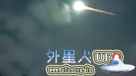 2015年7月30日巴西带尾巴的UFO