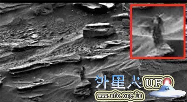 火星上有外星人吗?NASA火星照片现女外星人 长发露胸
