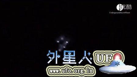 2015年8月9日克里米亚 紫色光团中的多个飞碟的图片
