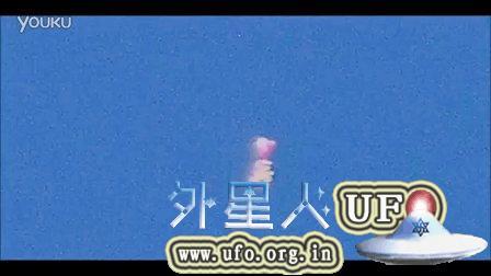 2015年8月23日空中彩色人形(女性)光团UFO的图片
