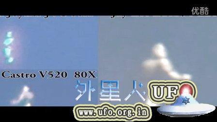 2015年8月9日洛杉矶清晰的人形UFO召唤于Sequoia Park的图片