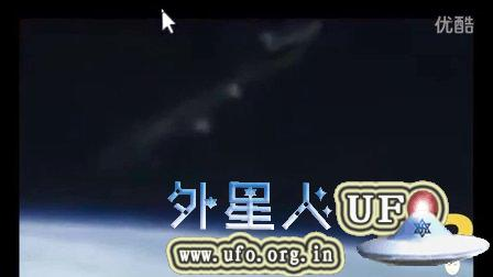2015年8月18日国际空间站拍到巨型UFO的图片