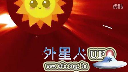 2015年8月30日太阳周围的UFO NASA视频的图片