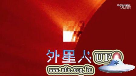 2015年8月29日太阳周围UFO集锦 NASA视频的图片
