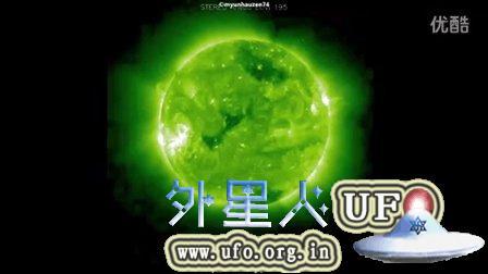 2015年9月3日太阳周围多个巨大UFO NASA视频的图片
