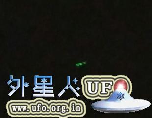 重庆多地目击旋转发光的UFO2015年9月8日晚的图片 第2张
