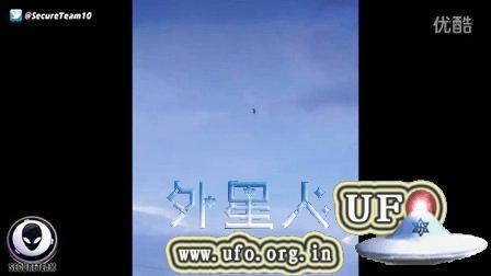 2015年9月5日德州海湾巨大奇特UFO(放大)的图片