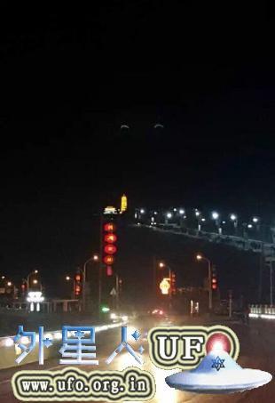 陕西&贵州网友目击巨型月牙状UFO似一双笑眼2015年9月14日的图片 第2张
