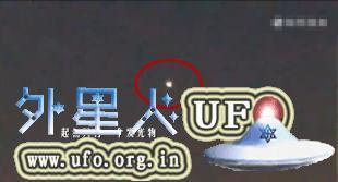 2015年9月14日2个UFO出现在美国洛杉矶上空的图片 第1张