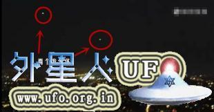2015年9月14日2个UFO出现在美国洛杉矶上空的图片 第3张
