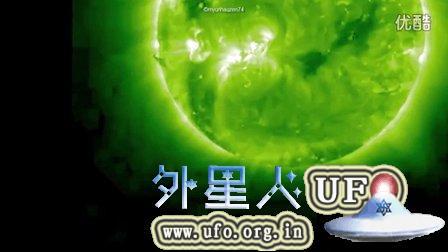 2015年9月4日-6日太阳周围的UFO NASA视频的图片