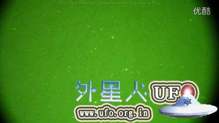 2015年9月10日白色光球UFO和快速光点UFO的图片