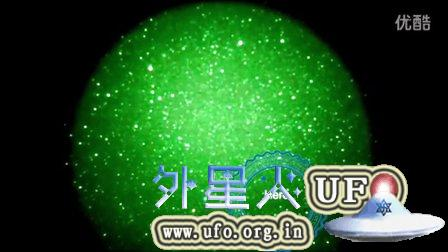 2015年9月5日新西兰高空多个移动发光UFO的图片