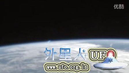 2015年9月12日国际空间站拍到UFO慢慢隐形的图片