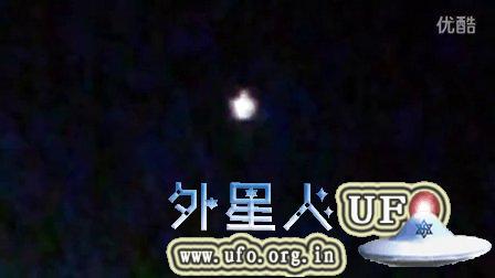 2015年9月13日加州兰色光球UFO的图片