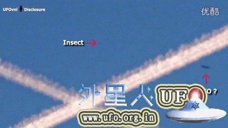 2015年9月13日化学尾迹与飞碟UFO的图片