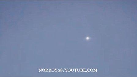 2015年10月11日加州圣荷西银色光球UFO的图片