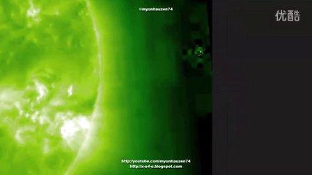 2015年10月6日太阳周围的UFO的图片