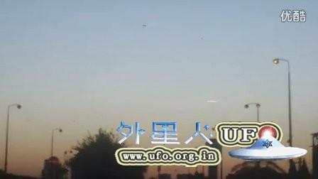 2015年11月13日以色列两个不发光UFO&1个发光UFO的图片
