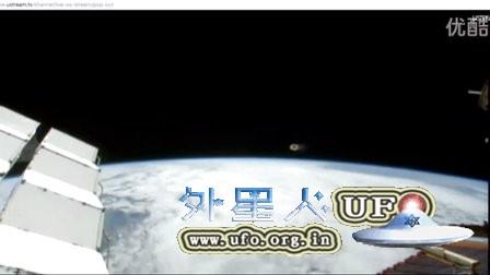 2015年11月23日国际空间站拍到圆环状UFO的图片