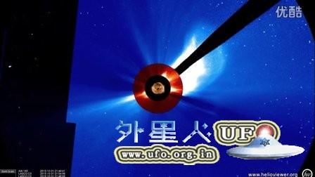 2015年11月20日太阳周围近期多个巨大UFO的图片